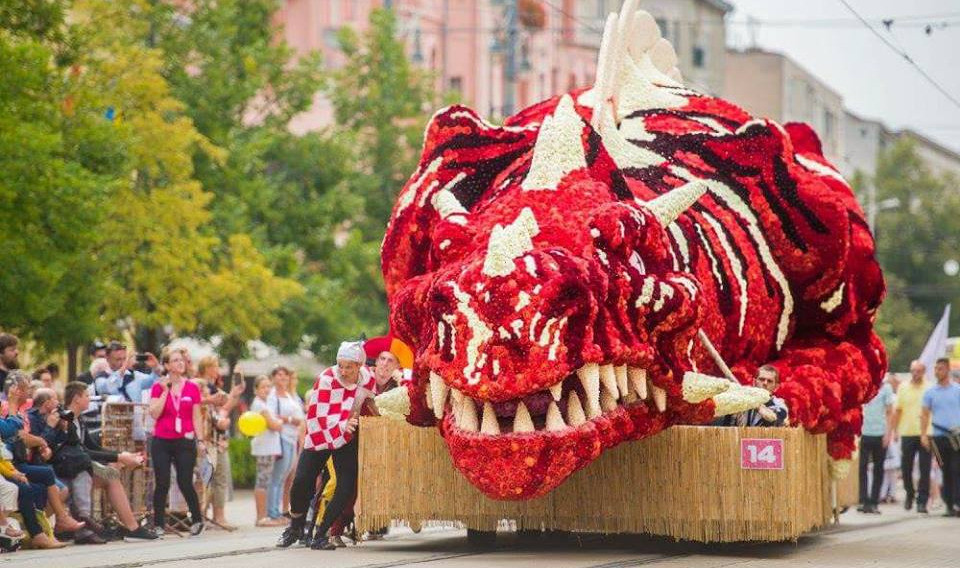 Blumenkarneval von Debrecen