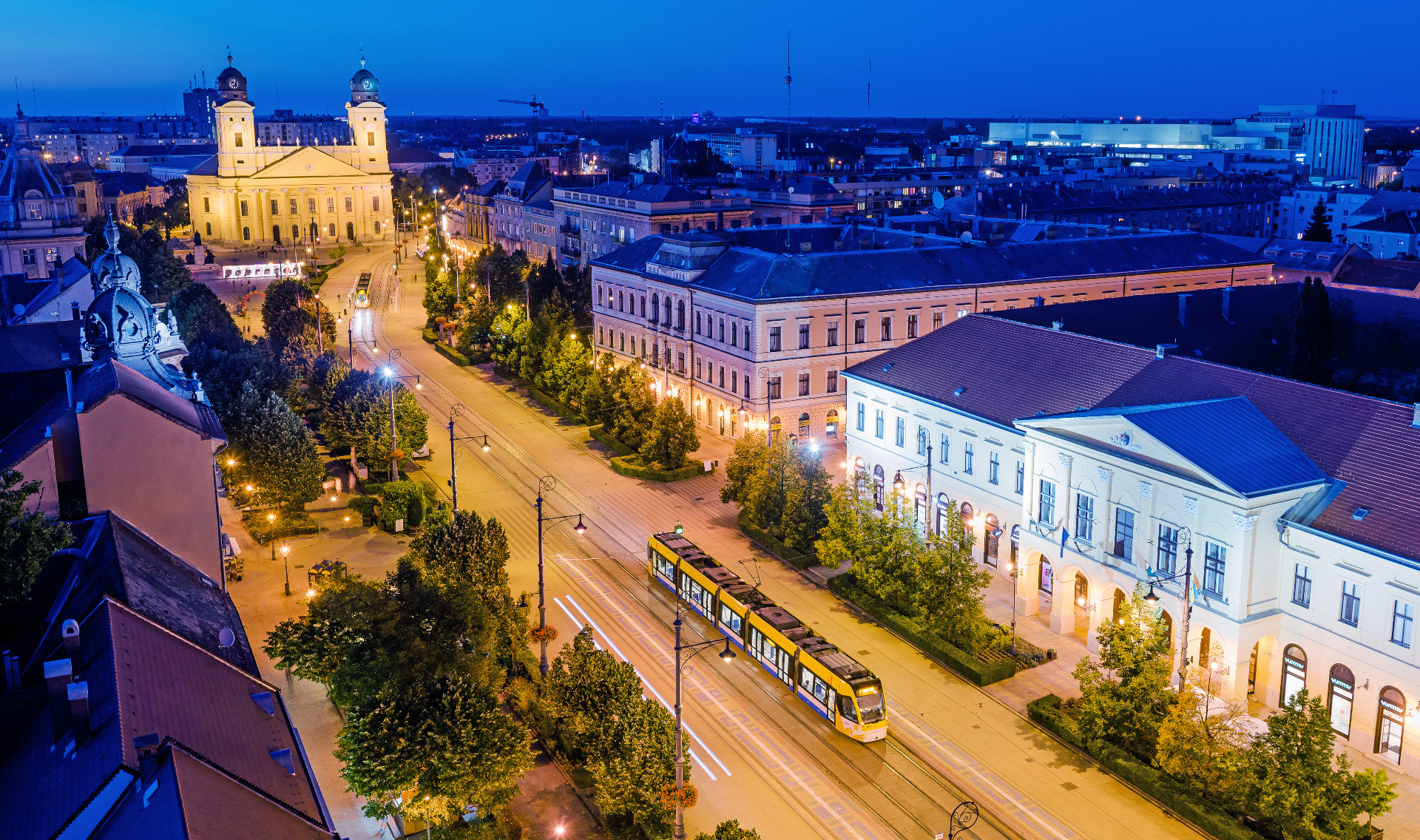 Hauptplatz von Debrecen
